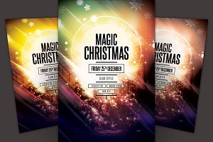 Magic Christmas Flyer