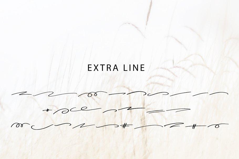 Best Cherish with Extra line Vector