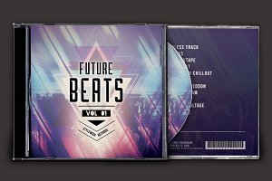 Future Beats CD Cover Artwork