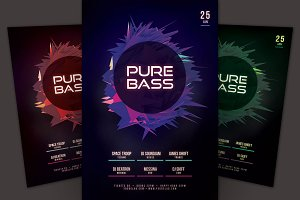 Pure Bass Flyer