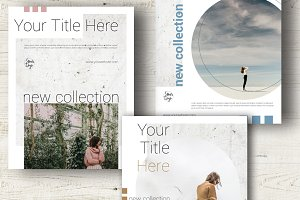 3 Flyers Templates in InDesign