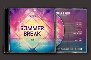 Summer Break CD Cover Artwork