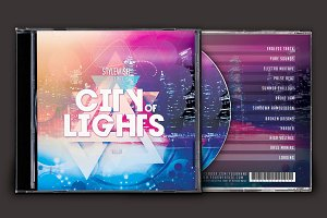 City of Lights CD Cover Artwork