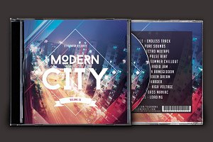 Modern City CD Cover Artwork
