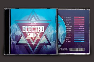 Electro Sound CD Cover Artwork