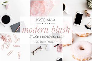 Modern Blush Stock Photo Bundle
