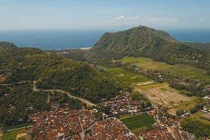 Town near the sea Bali, Indonesia