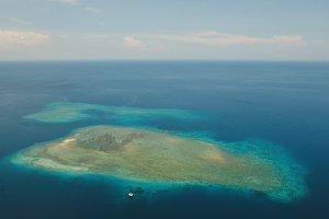 Coral Reef Atoll, Bali.