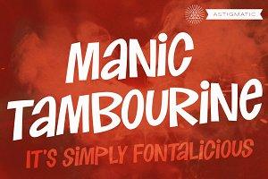 Manic Tambourine AOE