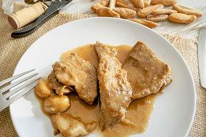 Iberian pork tenderloin,spanish tapa