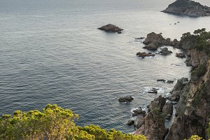 Nature landscape of Costa Brava
