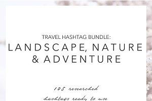 Landscape Nature Adventure Hashtags
