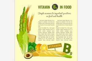 Vitamin B9 in Food