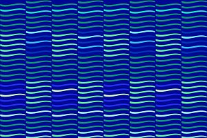 Wave repeat blue pattern, background