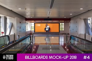 Billboards Mock-Up 2018 #4