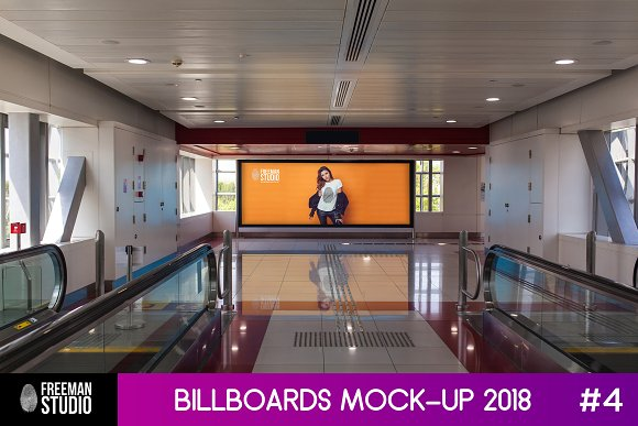 Download Billboards Mock-Up 2018 #4