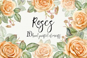 Watercolor vintage roses.PNG