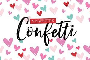 Valentine Confetti Kit