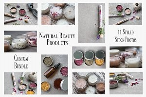 Natural Beauty Spa Products Bundle