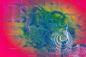Colorful Fantasy Abstract