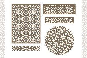 Uzbek East  tracery weave