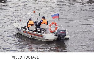 Motorboat Russian Emergency Ministry