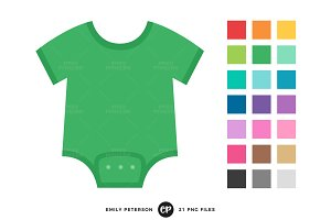 Baby Tees Clipart