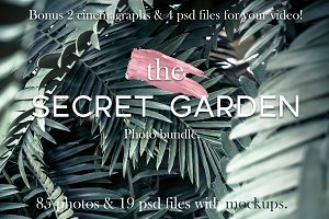 The secret garden.Photo bundle+bonus