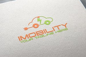Imobility | Green Car Logo