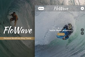 FloWave Responsive WordPress Theme