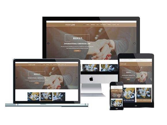 ET Law – Law WordPress Theme