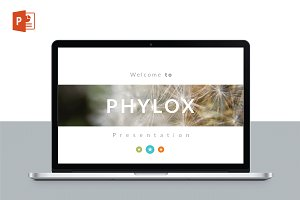PHYLOX Maximal POWERPOINT Template