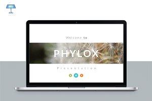 PHYLOX Maximal KEYNOTE Template