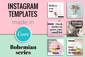 Instagram Templates Edit In Canva