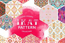 Ikat Pattern Collection