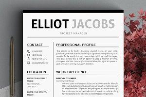Minimalist Resume Template Clean CV