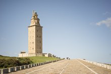 Hercules tower lighthouse