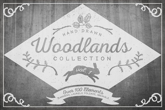 Woodlands Collection, Vol. 1 - Illustrations
