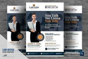 Legal Firm and Law Office Flyer
