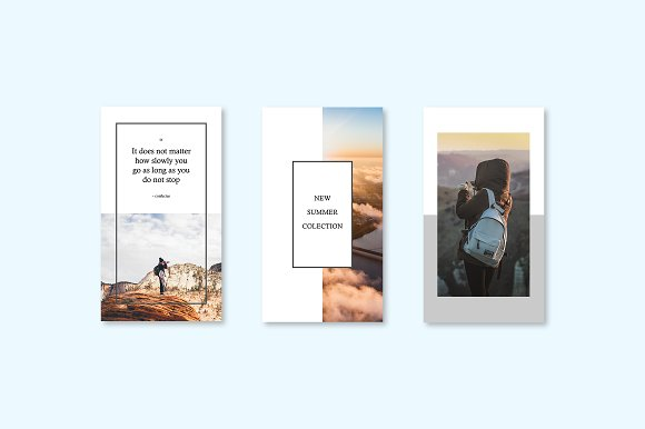 CALISTO | Instagram Story Templates in Templates - product preview 1