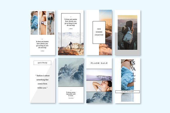 CALISTO | Instagram Story Templates in Templates - product preview 3