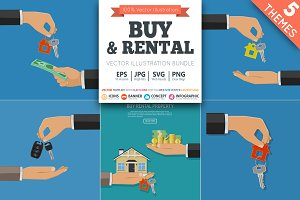 Buy and Rent Car and Real Estate