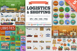 Warehouse, Logistics and Shopping