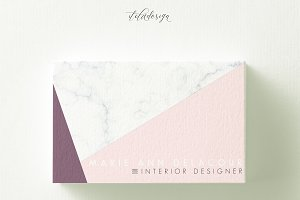 Marble Triangle Business Card
