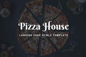 Pizza House – Landing Page HTML5