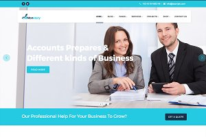 Monetary - Finance Business WP Theme