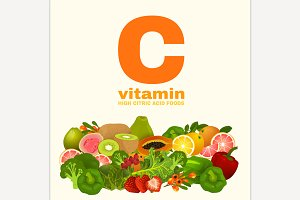 Vitamin C in Food