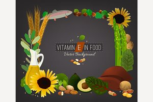 Vitamin E Background