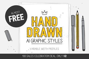 100 SALES DEAL! Styles & brushes