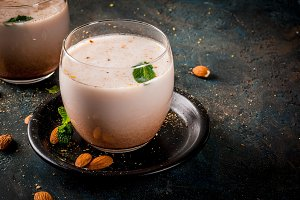 Traditional Inian Thandai or Sardai